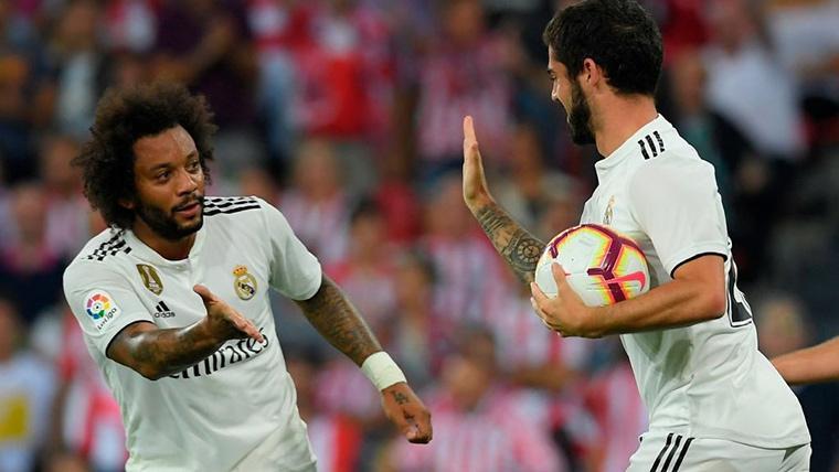 Isco Alarcón y Marcelo agravan su situación en el Real Madrid