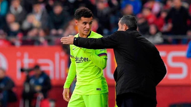 La solución de Valverde para que Coutinho recupere su nivel