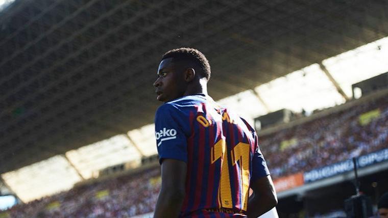 Ousmane Dembélé vuelve al equipo