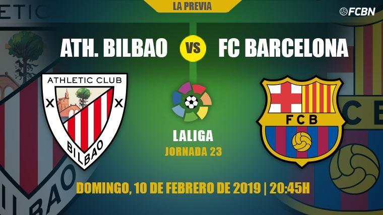 El Athletic Club, obstáculo de un Barça que quiere ser más líder