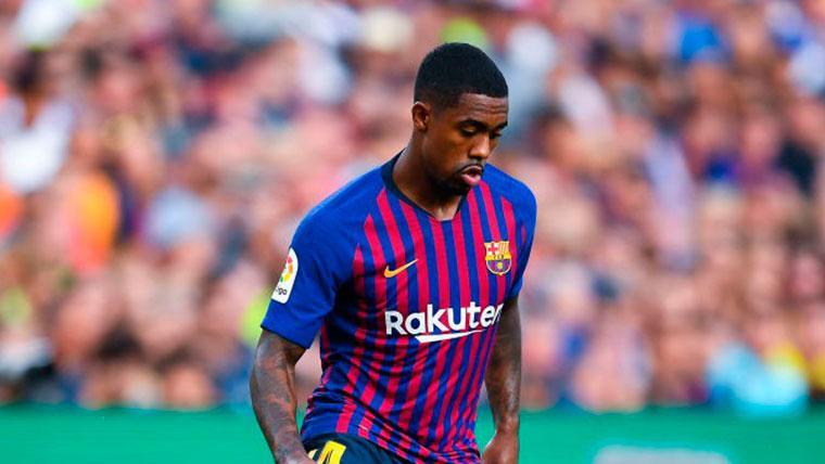 Malcom, confiado con su nuevo estatus en el Barcelona