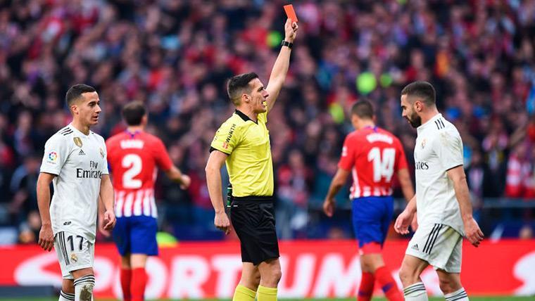 Los árbitros hablan de la polémica en el 'derby' madrileño