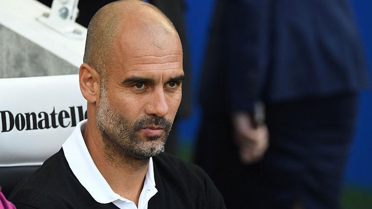 Guardiola señala que el actual Manchester City no está al mismo nivel que su Barça