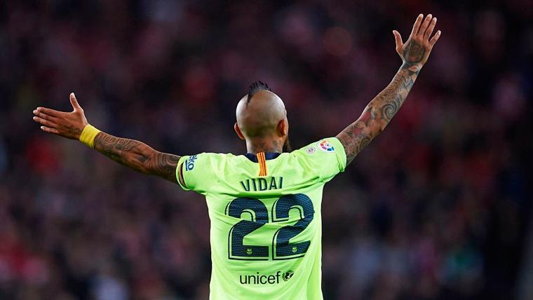 Arturo Vidal vuelve a tirar de redes sociales para mandar callar a sus críticos