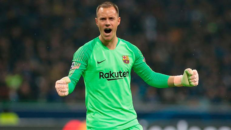 The words on Ter Stegen of the mythical ex goalkeeper of the