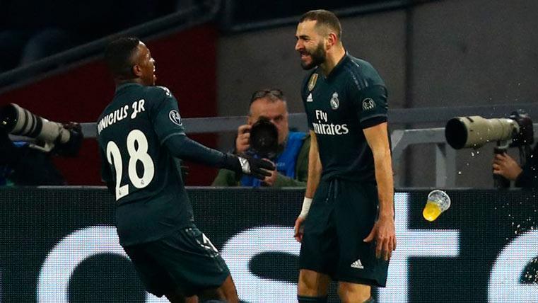 El Real Madrid tira de pegada y supera a un Ajax que fue mucho mejor (1-2)