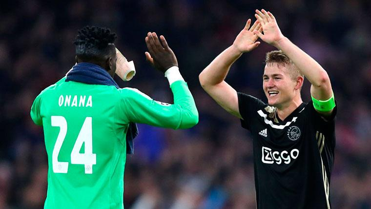 Onana confirma que De Ligt quiere jugar en el Barcelona