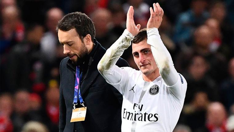 Verratti brilla en Champions y le comparan... ¡Con Iniesta y Modric!