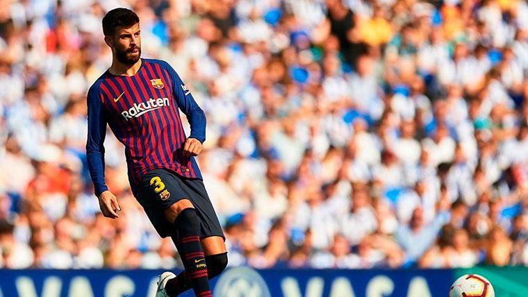 Gerard Piqué, el jugador que más minutos ha jugado de LaLiga