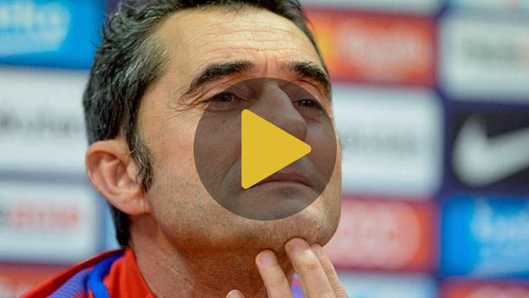 Ernesto Valverde se pronuncia tras renovar con el Barcelona