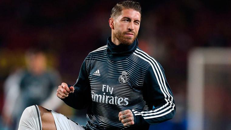 Curiosa 'aclaración' de Sergio Ramos para evitar la sanción en Champions League