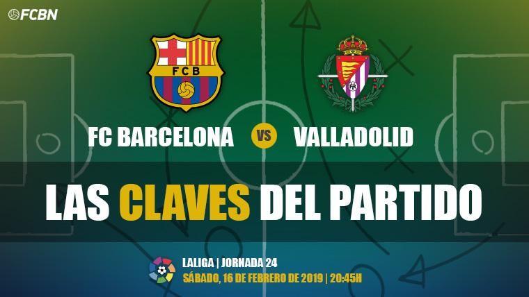 Las claves del FC Barcelona-Real Valladolid de LaLiga 2018-19