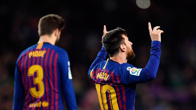 Piqué lo guisó y Messi se lo comió: Gol de penalti en el Barcelona-Valladolid