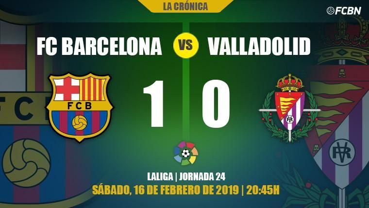 Un Barça con rotaciones cumple con lo justo en Liga y ya mira a la Champions (1-0)