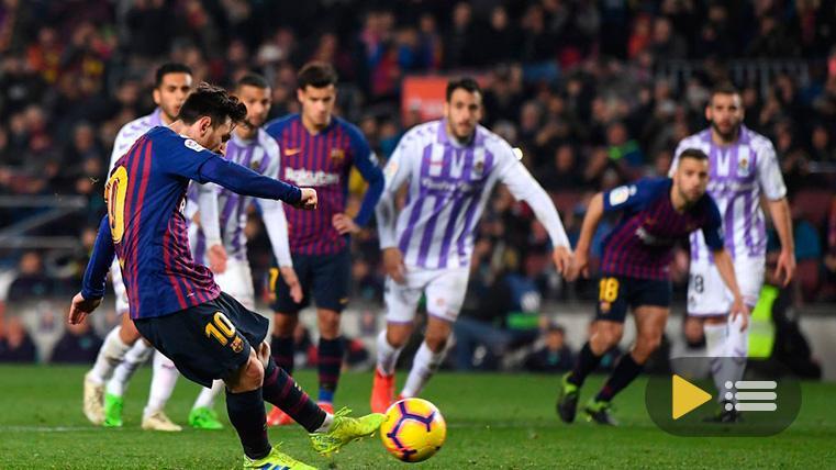 Vídeo resumen: FC Barcelona 1 Valladolid 0 (LaLiga J24)