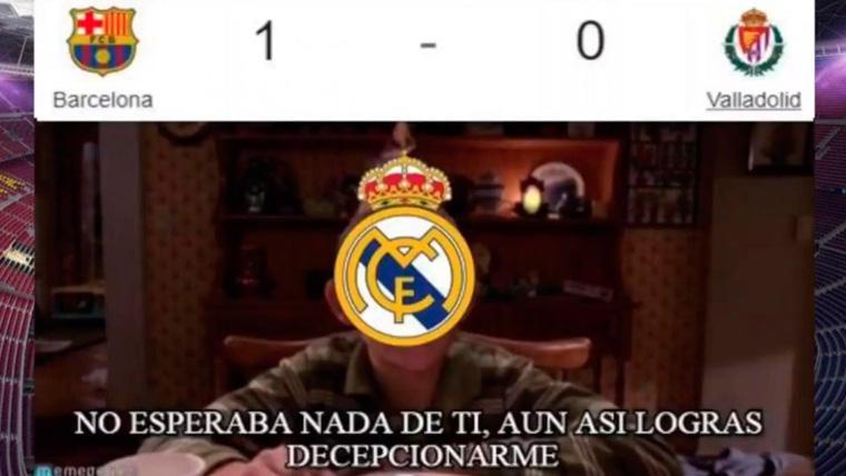 Estos son los mejores 'memes' del FC Barcelona-Real Valladolid