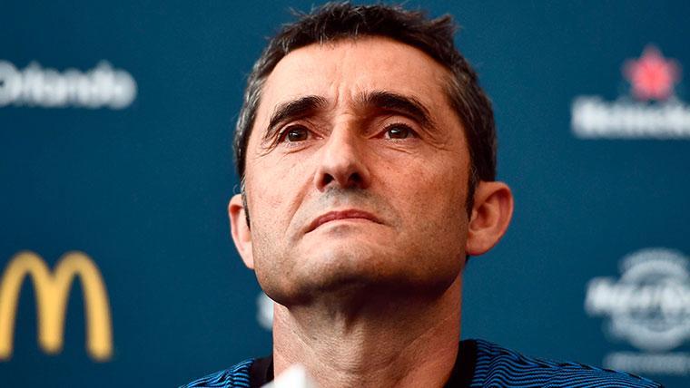Valverde asegura que el Barça dará la talla en la lucha por los títulos