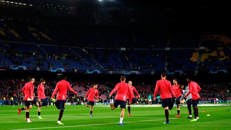 Entreno 'exprés' de Semedo y Lenglet tras el Barça-Valladolid