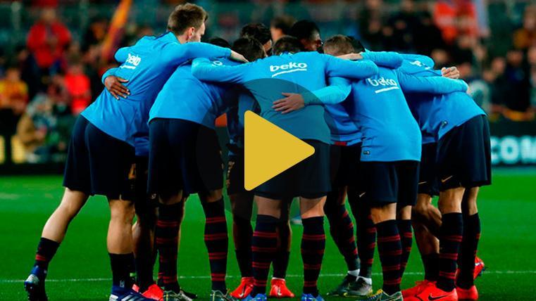 Buena maniobra de distracción, Barça: Ahora toca brillar en Lyon