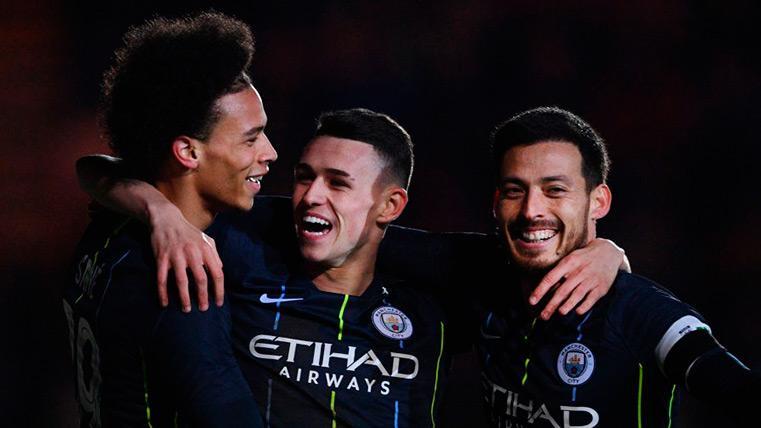 El Manchester City sigue imparable y se mete en los cuartos de la FA Cup (1-4)