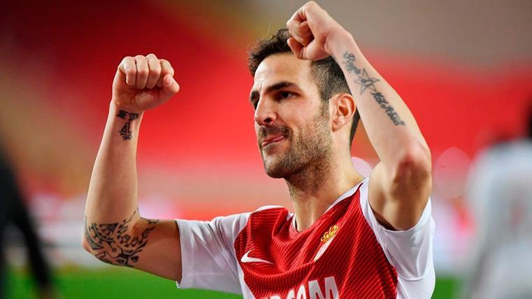 Cesc Fàbregas y su Mónaco ganan y salen del descenso (1-0)