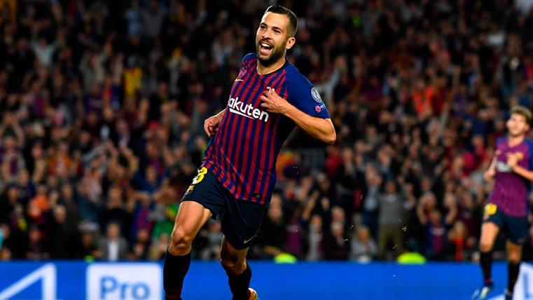 La renovación de Jordi Alba podría concretarse tras el Lyon-Barça