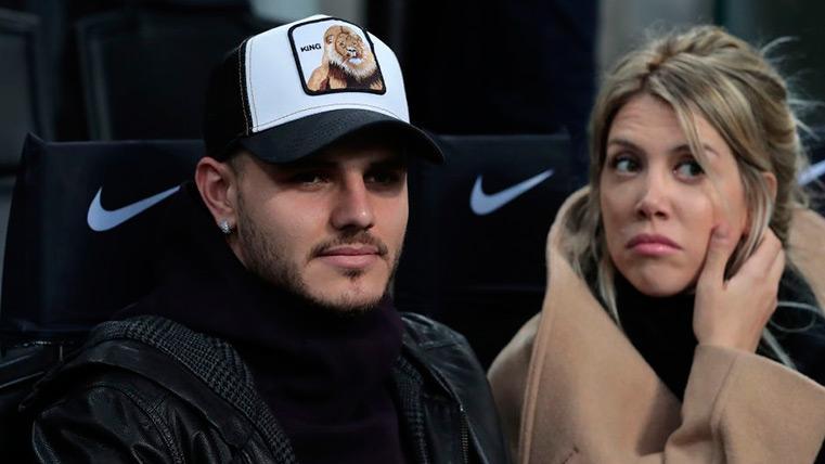 Los ultras del Inter increparon a Icardi con un duro comunicado en el Inter-Sampdoria