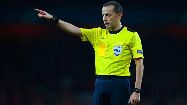 El turco Çakir será el árbitro que dirija el Olympique de Lyon-FC Barcelona