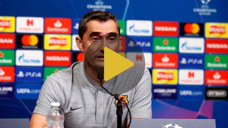 """Valverde: """"Llevamos tiempo esperando, hay mucha ilusión por la Champions"""""""