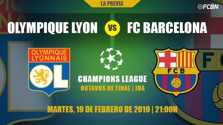 El Barcelona retoma la Champions ante el Lyon con ganas de reivindicarse
