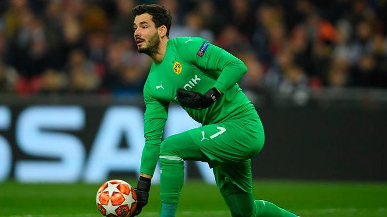 "Bürki, portero del Dortmund: ""Ter Stegen es el mejor portero de Europa"""