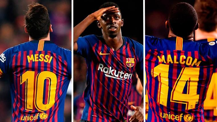 Messi-Dembélé-Malcom, el 'tridente' que podría revitalizar el ataque del Barcelona