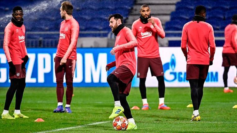 Lista de convocados de Valverde para el Sevilla-FC Barcelona