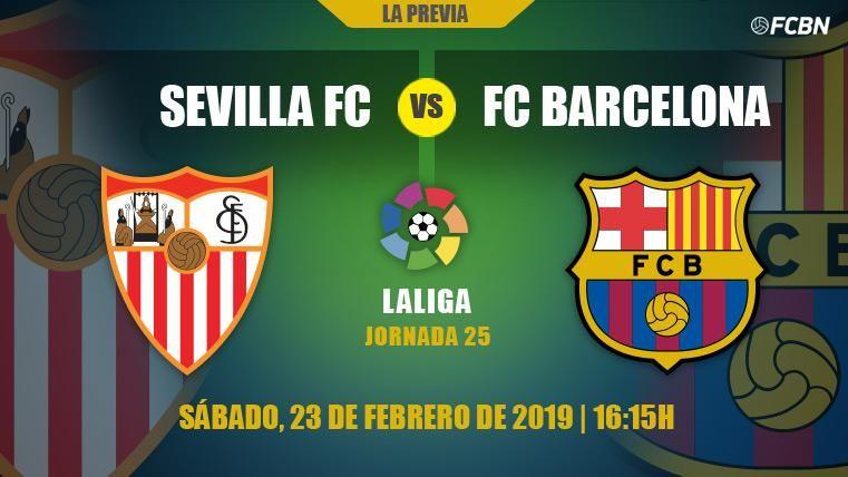 El FC Barcelona busca recuperar la puntería ante el Sevilla en el Sánchez Pizjuán