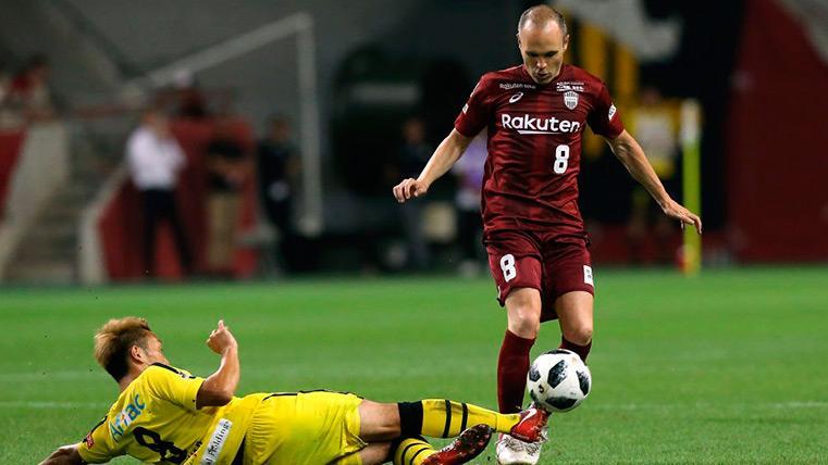 El Vissel Kobe de Iniesta y Villa cae derrotado en el debut del asturiano
