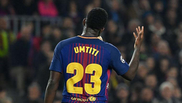 ¡Samuel Umtiti fue titular contra el Sevilla tres meses después!
