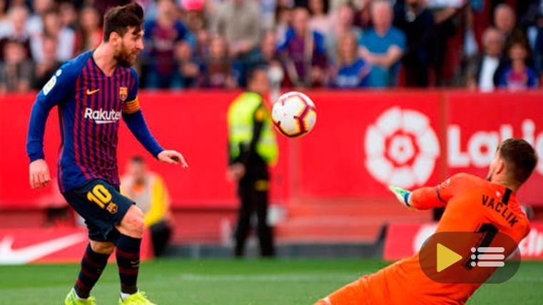 Vídeo resumen: Sevilla 2 FC Barcelona 4 (LaLiga J25)