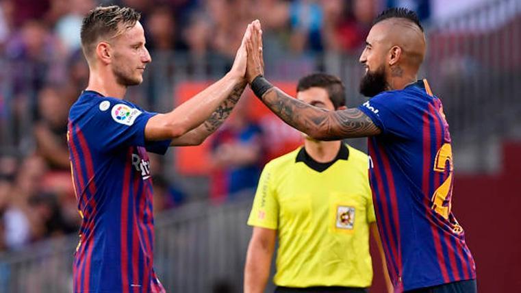 Arturo Vidal, Lenglet y Rakitic podrán jugar el Clásico de Liga