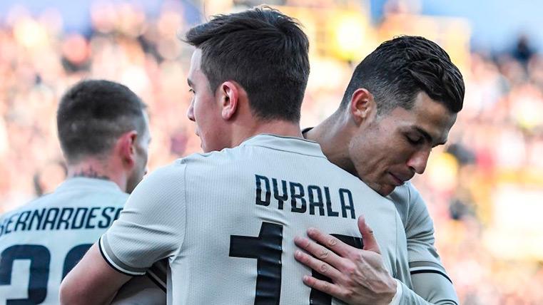 Dybala salva a la Juventus en otro mal día de Cristiano Ronaldo (0-1)