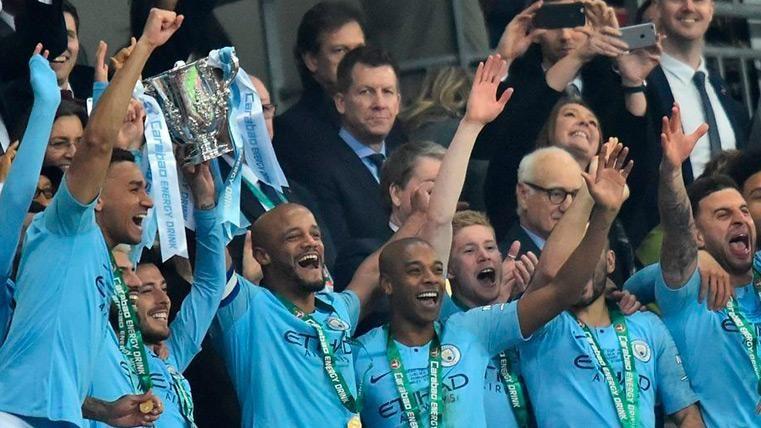 El Manchester City se proclama campeón de la Carabao Cup en una épica tanda de penaltis