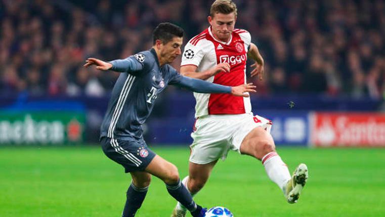 El Bayern de Múnich aprieta para robarle a De Ligt al Barcelona