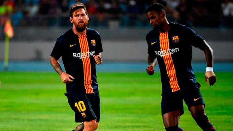 """Nélson Semedo alucina en el Barça: """"Messi no es de este mundo"""""""