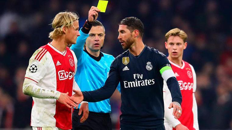 OFICIAL: La UEFA expedienta a Sergio Ramos... ¡Y también al FC Barcelona!
