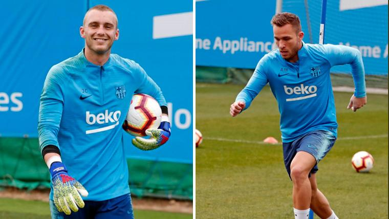 El Barça recupera efectivos para luchar por los títulos: Cillessen y Arthur reciben el alta