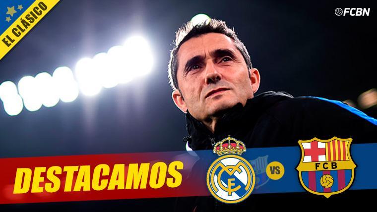 Valverde alcanza su partido 100 con el Barça en el Clásico de la Copa