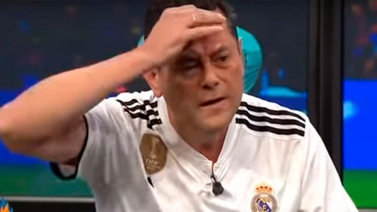 """Roncero y su pataleta tras el Clásico: """"Ha sido injusto. El Madrid ha sido mucho mejor"""""""