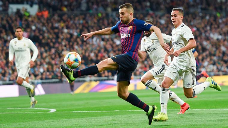 """Jordi Alba alucina con la comparación de Vinicius y Messi: """"Lo comparamos y hostia..."""""""