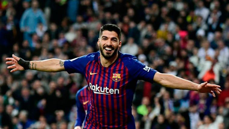El récord de Luis Suárez en los Clásicos apaga el debate sobre su futuro en el Barça
