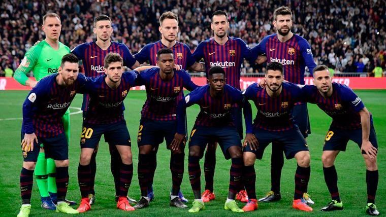 Los jugadores de la plantilla del Barça con más Clásicos disputados