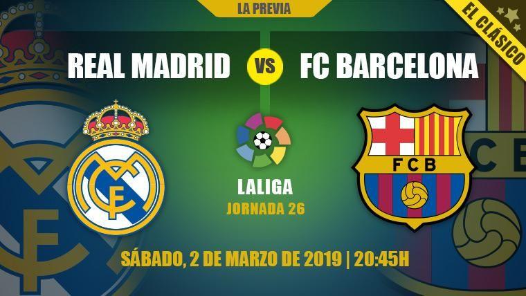 Tras acercarse a la Copa, el Barça quiere encarrilar LaLiga en otro Clásico en el Bernabéu